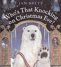 Who's That Knocking on Christmas Eve Hardcover Picture Book