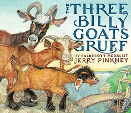 The Three Billy Goats Gruff Hardcover Picture Book