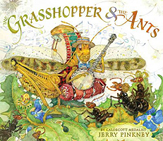 The Grasshopper & the Ants Hardcover Picture Book