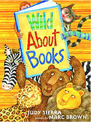 Wild About Books Hardcover Picture Book