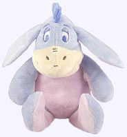 9 in. Disney Eoyore Plush Doll