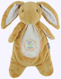 12 in. Nutbrown Hare Sschlumpie Buddy
