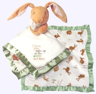 14 in. Nutbrown Hare Blanky