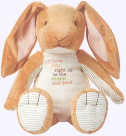 16 in. Floppy Ear Nutbrown Hare Plush Doll