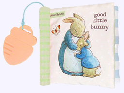 Peter Rabbit Good Little Bunny Cloth Book