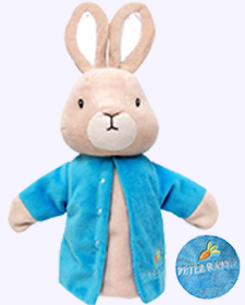 7 in. Peter Rabbit Hand Puppet