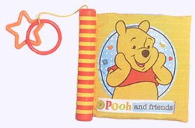 7 in. Disney Pooh Soft Book