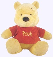 9 in. Winnie the Pooh Plush Doll