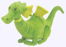 11 in. Small Puff the Magic Dragon Plush