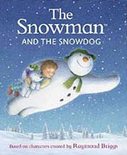 The Snowman and the Snowdog Hardcover Picture Book