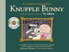 Knufle Bunny Special Edition Hardcover Picture Book with CD.