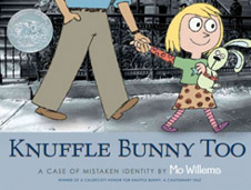 Knuffle Bunny Too Hardcover Picture Book