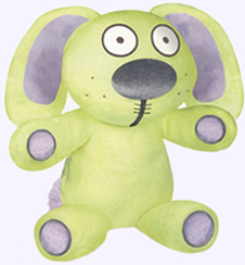 12 in. Knuffle Bunny Plush Doll