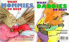 What Mommies/Daddies Do Best Hardcover Picture Book