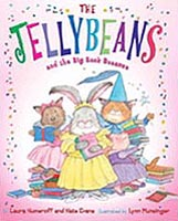 The Jellybeans and the Big Book Bonanza Hardcover Picture Book