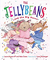 The Jellybeans and the Big Dance Hardcover Picture Book