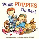 What Puppies Do Best Hardcover Picture Book