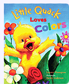 Little Quack Colors Padded Board Book
