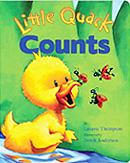 Little Quack Counts Padded Board Book