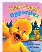 Little Quack Opposites Padded Board Book