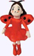 Ladybug Girl Cloth Doll