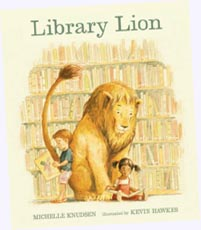 Library Lion Hardcover Picture Book