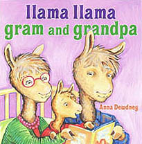 Llama Llama Gram and Grandpa Hardcover Pictue Book
