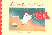 Lottie's New Beach Towel Hardcover Picture Book