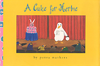 A Cake for  Herbie Hardcover Picture Book
