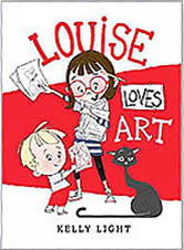 Louise Loves Art Hardcover Picture Book