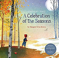 A Celebration of the Seasons Hardcover Picture Book with CD