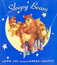 Sleepy Bears Out-of-Print Hardcover Picture Book