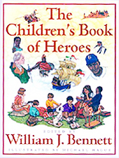 The Children's Book of Heroes Hardcover Picture Book