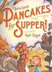 Pancakes for Supper Out-of-Print Hardcover Picture Book