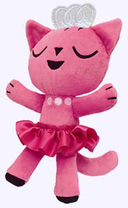 10 in. Ballet Cat Plush Doll