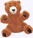 8 in. Bear Snores On Plush Doll