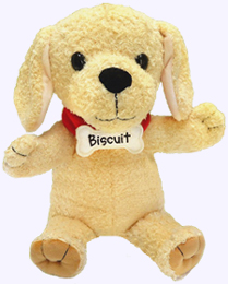 12 in. Biscuit Full Body Puppet