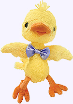 10 in. Dance Chickie Plush Doll