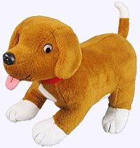 9 in. Dear Zoo Puppy Plush Doll
