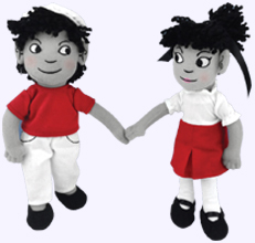 9 in. We're Going to be Friends Character Dolls