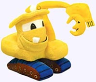 7 in. Goodnight, Goodnight, Construction Site Plush Toy