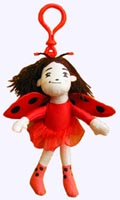6 in. Ladybug Girl Doll with Cool Clip