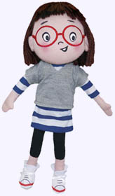 12 in. Louise Loves Art Plush Doll
