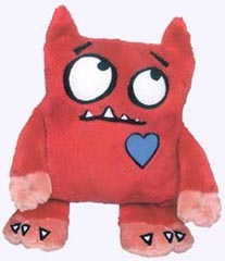 11 in. Love Monster Plush Doll