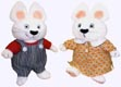 Max and Ruby Plush Dolls