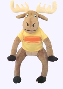 10 in. Z is for Moose Plush Doll