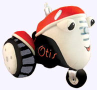 7 in. Otis the Tractor Plush Toy