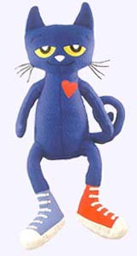 28 in. Pete the Cat Plush Doll