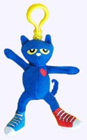 6.5 in. Pete the Cat Backpack Pull