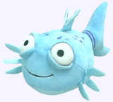 9.5 in. Pout-Pout Fish Plush Doll
